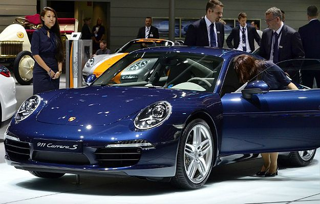Porsche Carrera S na pokazie w Niemczech