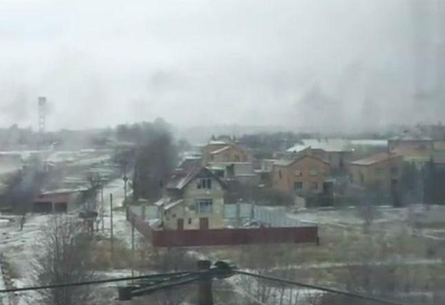 Separatyści trafili pociskiem w sztab ATO w Kramatorsku