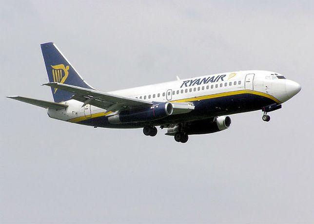 Awaryjne lądowanie boeinga 737 po alarmie bombowym