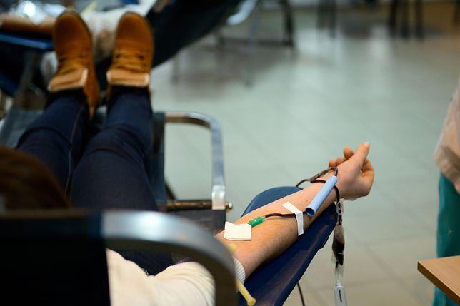 Krew odwiedzających będzie przechowywana w specjalnych lodówkach