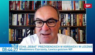 """Wybory 2020. Włodzimierz Czarzasty wytyka błąd Rafałowi Trzaskowskiemu ws. TVP. """"To platformiana fobia"""""""