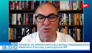 Wybory 2020. Włodzimierz Czarzasty o Rafale Trzaskowskim: nie jest prezydentem moich marzeń