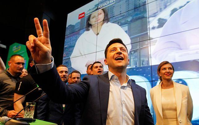 Ukraina. Wołodymir Zełenski wygrał wybory prezydenckie