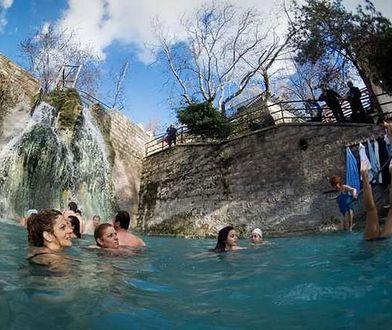 Nieznana atrakcja Grecji - gorące źródła