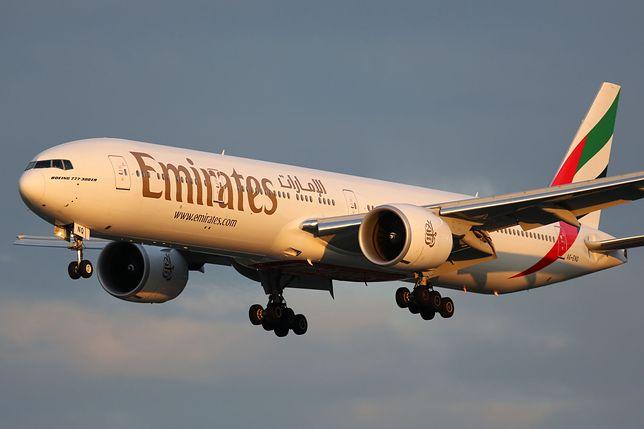Linie lotnicze Emirates, zdjęcie ilustracyjne