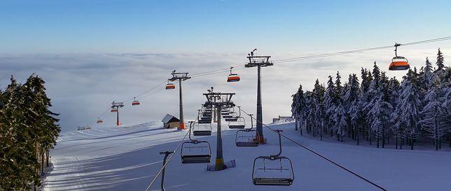 Zieleniec Ski Arena należy do najpopularniejszych ośrodków narciarskich w Polsce