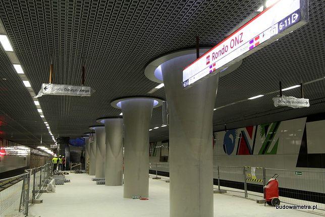 Wiceprezydent Warszawy: II linią metra za kilka tygodni