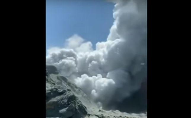 Wybuchł Wulkan w Nowej Zelnadii