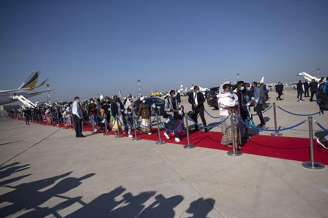 Izrael. Przylot Żydów z Etiopii