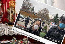 """Kanada. Polski ksiądz znów wyrzucił policję z kościoła. """"Atak gestapo"""""""