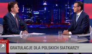 """Mateusz Morawiecki o swoich nagraniach z """"Sowy"""". """"Sorry panowie, ale to niestety wasze afery"""""""