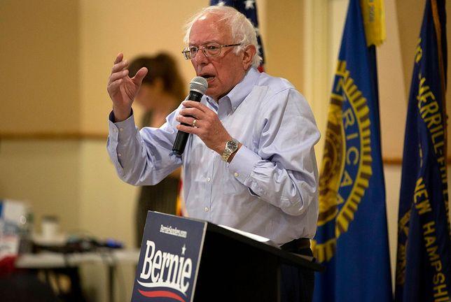 USA. Bernie Sanders (senator Partii Demokratycznej) trafił do szpitala
