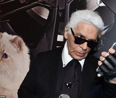 Karl Lagerfeld chętnie godził się na udział w filmach