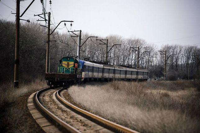Kolej na Ukrainie