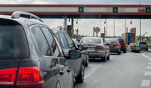 Awaria szlabanów na autostradzie A2, tworzą się korki (zdj. ilustracyjne)