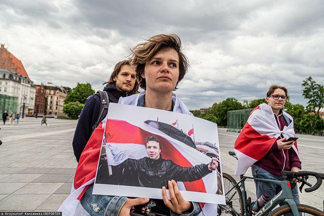 Raman Pratasiewicz zatrzymany. Protest we Wrocławiu