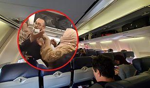 Bójka na pokładzie samolotu. Powodem schowki na bagaże
