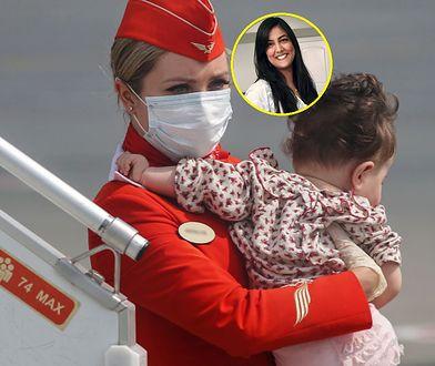 Podczas lotu wyrzuciła pieluchę dziecka do kosza. Została upokorzona przez stewarda