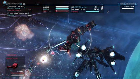 Strike Suit Zero: Director's Cut najpierw na PS4 i Xbox One, potem na PC