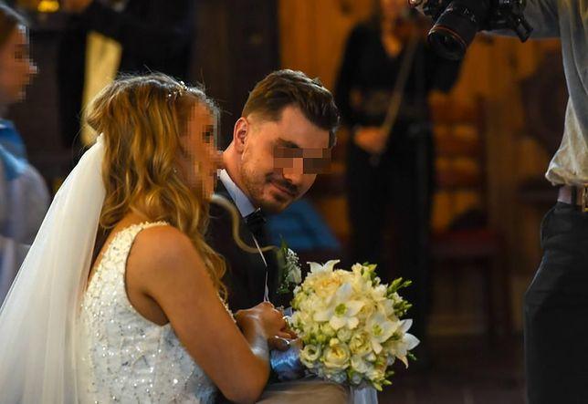 Daniel M. na ślubnym kobiercu