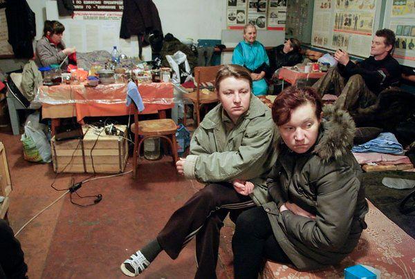 Mieszkańcy Doniecka