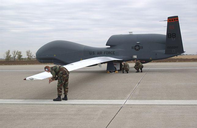 Dron RQ-4 Global Hawk wpadł do morza w wybrzeży Hiszpanii