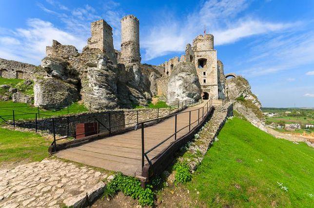 Zamek Ogrodzieniec już po remoncie