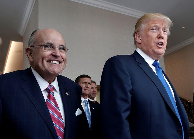 Rudy Giuliani i Donald Trump