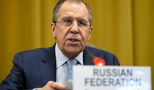 """Szef rosyjskiej dyplomacji o Trumpie. """"Destabilizuje światowy ład"""""""