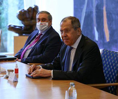 Aleksiej Nawalny otruty. Siergiej Ławrow: zabawna lektura