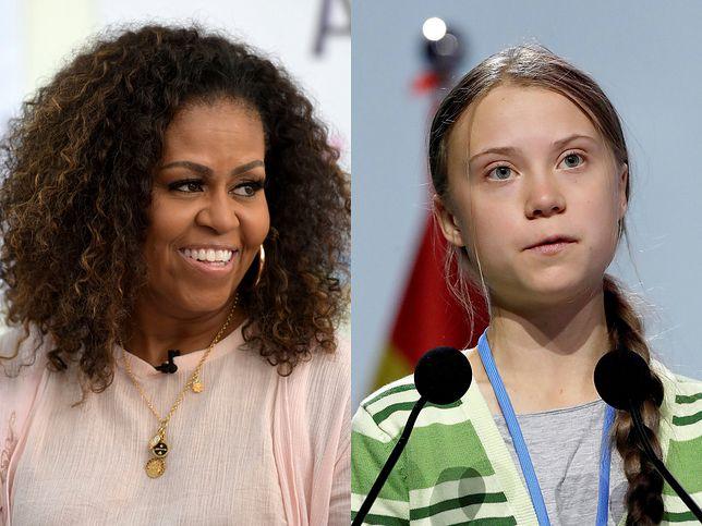 Michelle Obama i Greta Thunberg