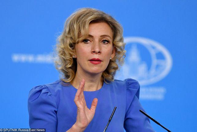 Maria Zacharowa nie zgadza się ze słowami wiceszefa MSZ