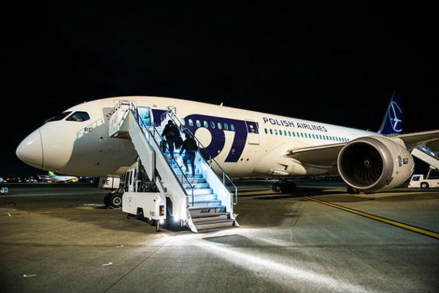Rosyjskie media o korytarzach nad Syberią dla polskich samolotów