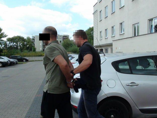 Policjanci zatrzymali pod Piasecznem poszukiwanego przez Interpol Turka