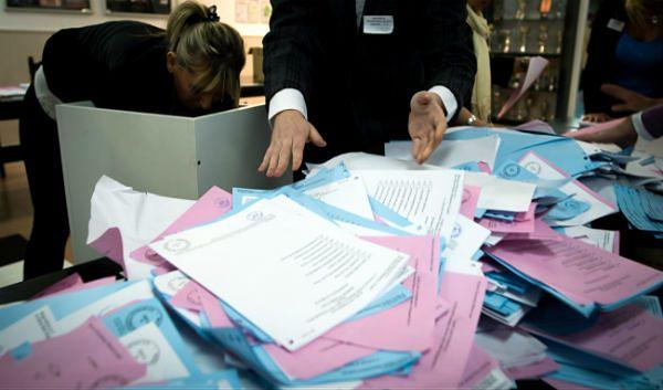 Liczenie głosów w komisji wyborczej