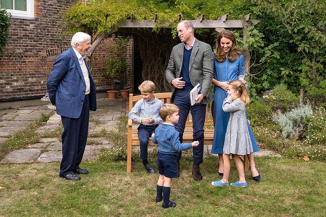 David Attenborough odpowiedział na pytania dzieci księcia Williama i księżnej Kate