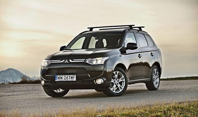 Mitsubishi Outlander i ASX z nagrodami za bezpieczeństwo