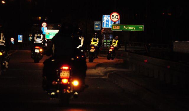 Będą zachęcać motocyklistów do zakładania odblasków