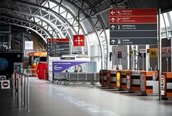 Warszawa. Lotnisko w Modlinie niemal puste. Zamkną terminal