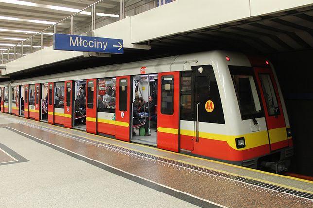 Warszawskie metro. Utrudnienia w ruchu - znaleziono niewybuch na budowie