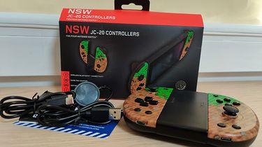 Gioteck NSW JC-20 (Cubes) - alternatywa bezprzewodowych padów na Nintendo Switch