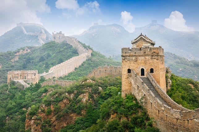 Wielki Mur Chiński, jeden z najważniejszych symboli kraju