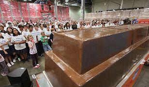 Gigantyczna czekolada