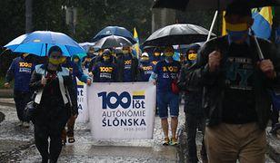 Marsz Autonomii Śląska przeszedł przez Katowice. Ograniczona liczba uczestników