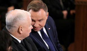 Wybory prezydenckie 2020. Jarosław Kaczyński i Andrzej Duda