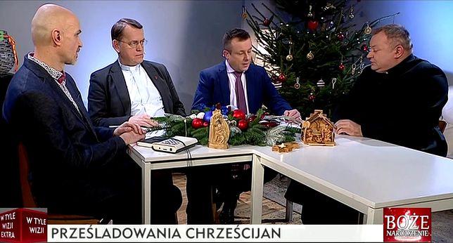 W świątecznym wydaniu programu TVP Info, ks. Dariusz Oko mówił o prześladowaniach chrześcijan ze strony muzułmanów.