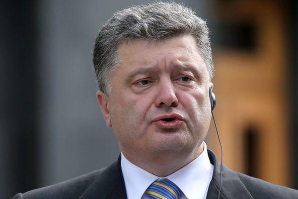 Petro Poroszenko apeluje o powstrzymanie wojny w centrum Europy