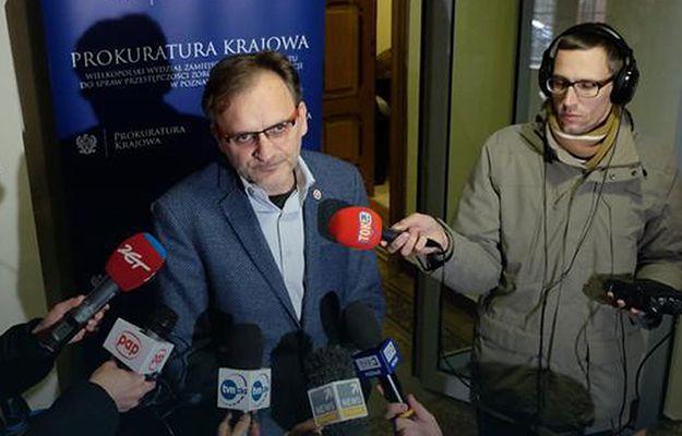 Prok. Piotr Baczyński przeprasza za swoje zachowanie na konferencji ws. wniosku o areszt dla Józefa Piniora