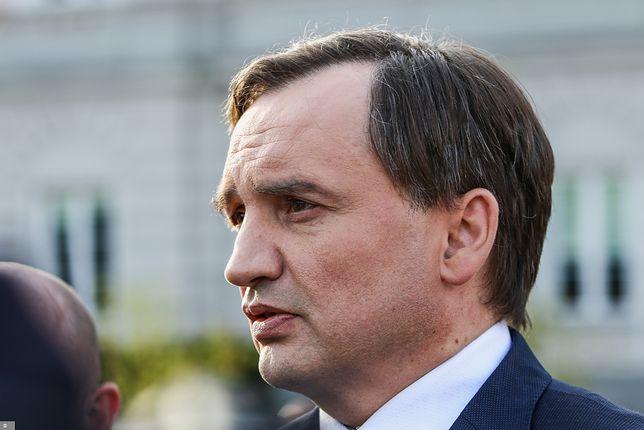 Szef Solidarnej Polski Zbigniew Ziobro (zdj. arch.)