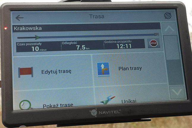 Szczegóły wyznaczonej trasy. Stąd można na przykład ominąć wybrany fragment, fot. Oskar Ziomek